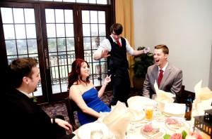 Wedding at Barrington's Makray Memorial Golf Club.